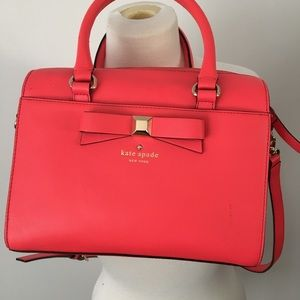 Kate Spade Coral New York Holly Street Satchel